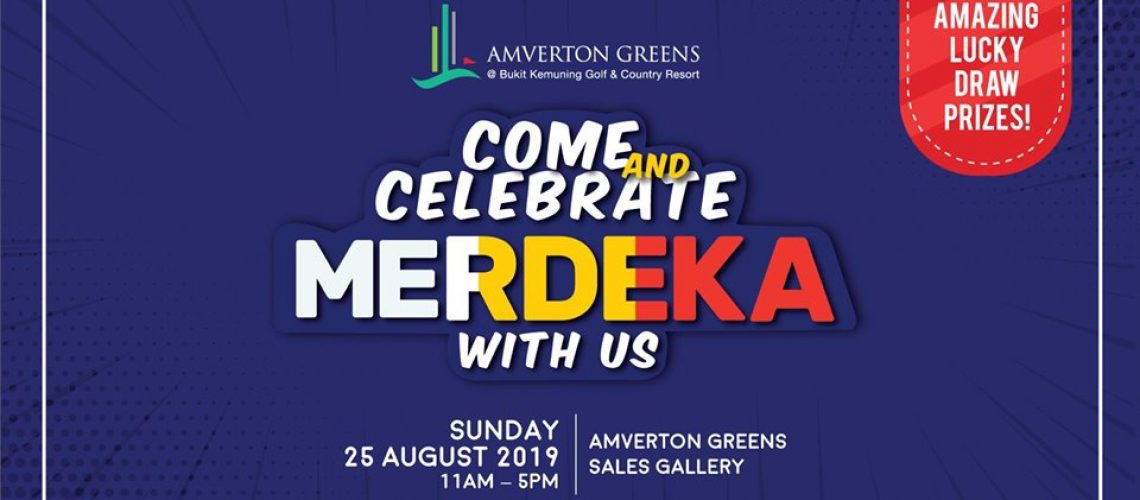 Come and celebrate merdeka with us